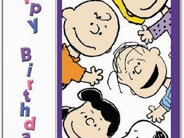 Download By SizeHandphone Tablet Desktop Original Size Back To Peanuts Characters Birthday Cards