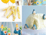 Penguin Birthday Decorations Penguin themed Birthday Party Ideas