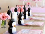 Penguin Birthday Decorations Pink and Purple Penguin Party Glorious Treats