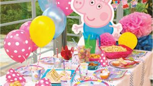 Peppa Pig Birthday Decorations Uk How to Style A Peppa Pig Party Party Pieces Blog