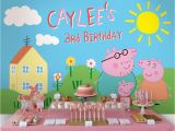 Peppa Pig Birthday Decorations Usa Peppa Pig Birthday Party Planning Ideas Supplies