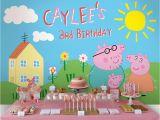 Peppa Pig Birthday Decorations Usa Peppa Pig Birthday Party Planning Ideas Supplies