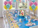 Peppa Pig Birthday Decorations Usa Peppa Pig Party Table Idea Party City