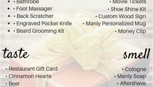 Perfect Birthday Ideas for Him 5 Senses Gift for Him