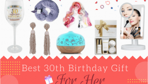 Perfect Gifts for Her Birthday 18 Great 30th Birthday Gifts for Her Hahappy Gift Ideas