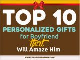 Personal Birthday Gifts for Boyfriend top 10 Personalized Gifts for Boyfriend that Will Amaze Him