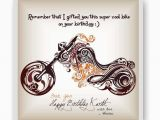 Personal Birthday Gifts for Him Bike Personalized Fridge Magnet Gifts for Husband