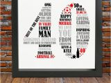Personal Birthday Gifts for Him Personalized 40th Birthday Gift for Him 40th Birthday 40th