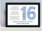 Personalised 16th Birthday Gifts for Him Personalised 16th 18th 21st Birthday Gifts for Him son