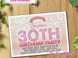 Personalised 18th Birthday Decorations Adult Birthday Invitations Party Invites Personalised 18th