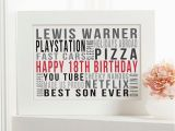 Personalised 18th Birthday Presents for Him Personalised 18th Birthday Gifts Chatterbox Walls