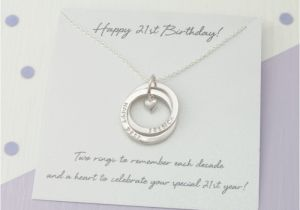 Personalised 21st Birthday Gifts For Her Gift Personalized