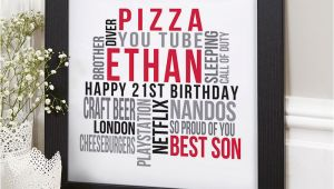Personalised 21st Birthday Gifts for Him Personalized Gifts for 21st Birthday Lamoureph Blog