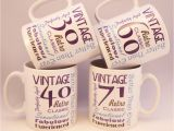Personalised 30th Birthday Gifts for Husband Birthday Gift Personalised Mug Coffee Cup 30th 40th 50th