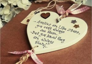 Personalised 40th Birthday Gifts For Her Aunt Auntie Sister Gift Heart 18th