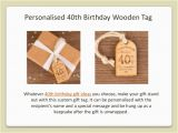 Personalised 40th Birthday Gifts for Her Personalised 40th Birthday Gifts for Her Gift Ftempo