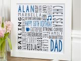 Personalised 50th Birthday Presents for Him 50th Birthday Personalised Unique Gifts for Him