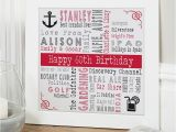 Personalised 60th Birthday Gifts for Him 60th Birthday Personalised Gift Ideas for Men Chatterbox