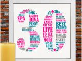 Personalised Birthday Presents for Him Personalized 40th Birthday Gift for Him 40th Birthday 40th