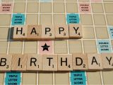 Personalised Scrabble Birthday Cards Scrabble Happy Birthday Card by Tagliatela On Etsy