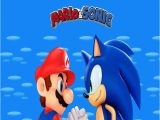 Personalised Super Mario Birthday Card Personalised Mario and sonic Birthday Card Ebay