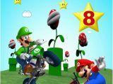 Personalised Super Mario Birthday Card Personalised Super Mario Birthday Card