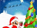 Personalised Super Mario Birthday Card Personalised Super Mario Christmas Card Design1