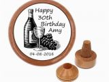 Personalized 30th Birthday Gifts for Her Personalized 30th Birthday Gift for Her Wine Stopper 30