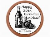 Personalized 30th Birthday Gifts for Her Personalized 30th Wine Stopper 30th Birthday Gift 30th