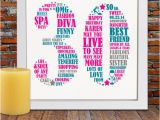 Personalized 30th Birthday Gifts for Her Personalized Birthday Gift 30th Birthday 30th by Blingprints