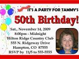 Personalized 40th Birthday Invitations Personalized 40th 50th 60th Birthday Party Invitations