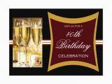 Personalized 40th Birthday Invitations Personalized 40th Birthday Party Invitations Zazzle