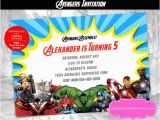 Personalized Avengers Birthday Party Invitations Avengers Invitation Avengers Personalized Invitation