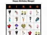 Personalized Birthday Bingo Cards Despicable Me Minions Personalized Birthday Party Game
