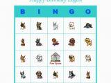 Personalized Birthday Bingo Cards Puppy Birthday Party Game Personalized Bingo Cards Ebay