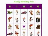Personalized Birthday Bingo Cards the Muppets Birthday Party Game Personalized Bingo Cards