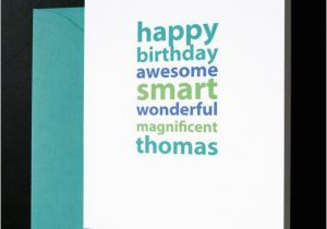 Personalized Birthday Cards For Him Add A Name Card Boy By Allotria