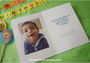 Personalized Birthday Cards For Him First Card From Cardstore Com Review Food Corner