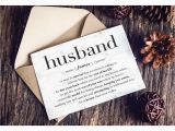 Personalized Birthday Cards for Husband Personalized Greeting Card Funny Valentine Card Husband