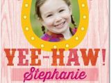 Personalized Birthday Cards for Kids Horseshoe Charm Personalized Birthday Cards for Kids