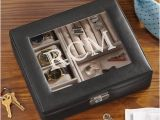 Personalized Birthday Gifts for Husband Usa Personalized Leather Watch Box and Storage Valet Walmart Com