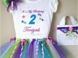 Personalized Birthday Girl Outfits Custom Girl Birthday Tutu Outfit Personalized by