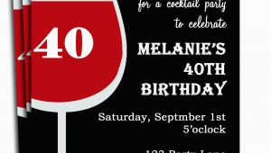 Personalized Birthday Invitations for Adults Free Printable Personalized Birthday Invitations for