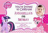 Personalized Birthday Invitations Free My Little Pony Personalized Birthday Invitations Best