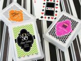 Personalized Birthday Playing Cards Personalized Birthday Playing Cards Birthday Party Favors Deck