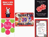 Personalized Birthday Playing Cards Personalized Playing Cards for Birthdays Personalized