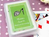 Personalized Birthday Playing Cards Teen Birthday Playing Cards with Personalized Labels