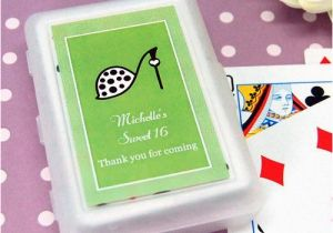 Personalized Birthday Playing Cards Teen With Labels