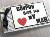 Personalized Birthday Presents for Him Love Coupon Book for Husband Boyfriend Anniversary