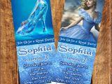 Personalized Cinderella Birthday Invitations 12 Cinderella Movie Birthday Party Ticket Invitations